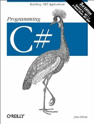 Programming C# By Jesse Liberty Paperback Book The Cheap Fast Free Post • 5.49£