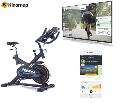 Exercise Bike Smooth Silent Magnetic Resistance FREE Membership On-Line Classes  • 299.99£