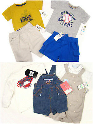 AU180.33 • Buy 10pc Mixed Boys Clothes Lot Adidas, Osh Kosh Outfits 2pairs Of Shoes 0-18 Months