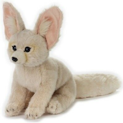 National Geographic Fennec Fox Plush Soft Toy 25cm Stuffed Animal - Bnwt • 16.94£
