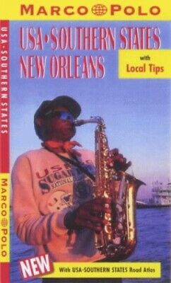 United States Of America: Southern States/New Orleans (Marco Polo T... Paperback • 9.88£