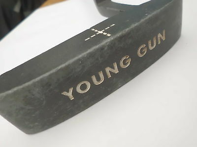 Pre~loved Young Gun Junior Putter ~ Blade Style ~ 31  Long ~ No Headcover • 9.99£