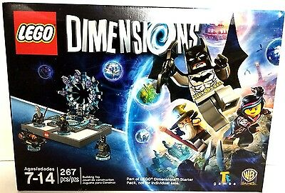 AU33.26 • Buy LEGO Dimensions 267 Pcs Building Pack From WiiU PS3 PS4 Xbox One 360 Starter Set