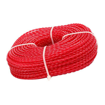 £15.39 • Buy 50m Nylon Trimmer Line Rope Roll Cord Cable Wire Grass Strimmer Garden