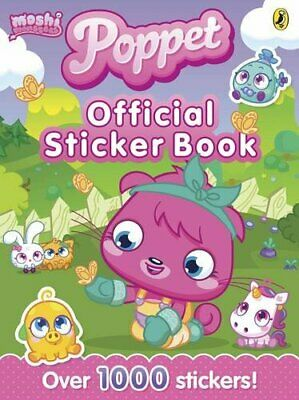 Moshi Monsters: Poppet Official Sticker Book Book The Fast Free Shipping • 104.33£