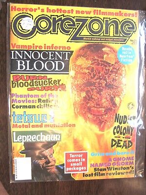 $12 • Buy Gorezone Magazine #24 (Winter 1992, 4 Posters) Innocent Blood, Tetsuo 2, Gnorm