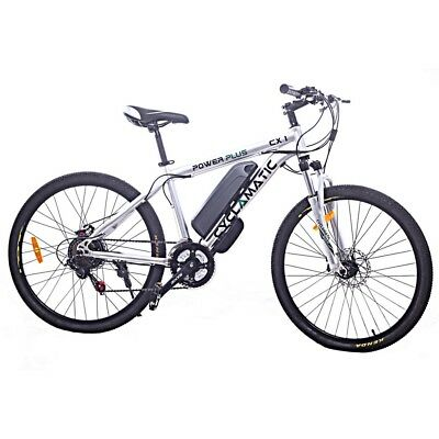 View Details Cyclamatic Power Plus Cx1 Electric Mountain Bike W/ Lithium-Ion Battery • 549.99£
