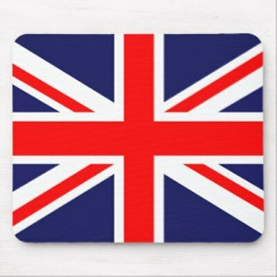 Novelty Uk Union Jack Britain Uk Flag Mouse Mat Pad For Pc Computer Laptop Mac • 2.99£