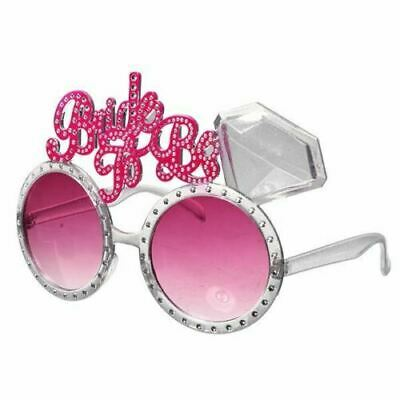 Bride To Be Glasses Hen Night Party Accessories Party Bag Favours • 1.99£