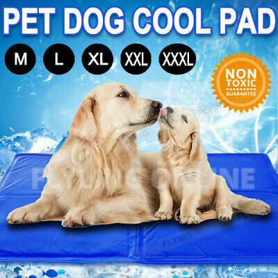 AU21.65 • Buy Pet Dog Cat Bed Non-Toxic Cooling Cool Water Cooling Gel Mat Summer Pad