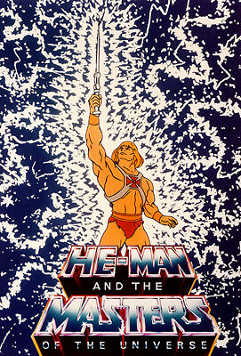 $9.99 • Buy He-Man And The Masters Of The Universe - 1983 - POP Art Poster