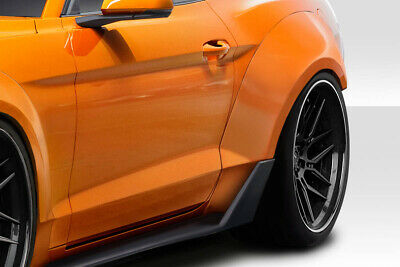 $ CDN653.16 • Buy Couture Grid Wide Body Rear Fender Flares 4 Pc For Mustang Ford 15-19 Ed_11
