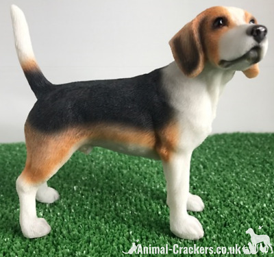 Beagle Ornament Sculpture Statue Lifelike Figurine Leonardo Range, Gift Boxed • 12.90£