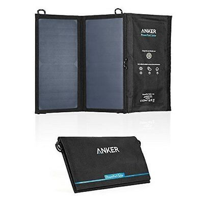 AU104.01 • Buy Anker PowerPort 15W 2-Port USB Solar Lite Charger For Galaxy S7/ IPhone 6 /LG G4