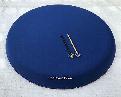 Bobbin Lacemaking Round Pillows Made By Harlequin. Various Sizes Available • 18.50£