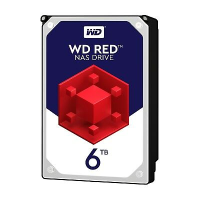 """View Details WD Red NAS 6TB 3.5"""" Internal HDD - SATA III, 5400rpm, 64MB Cache, OEM, WD60EFRX • 232.50£"""