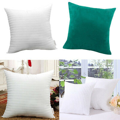 Peacock Blue Cushion Pillow Cover&Pillow Inner Pad For Sofa Bedroom -60x60cm • 25.07£
