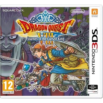 AU60.89 • Buy Dragon Quest VIII Journey Of The Cursed King 3DS