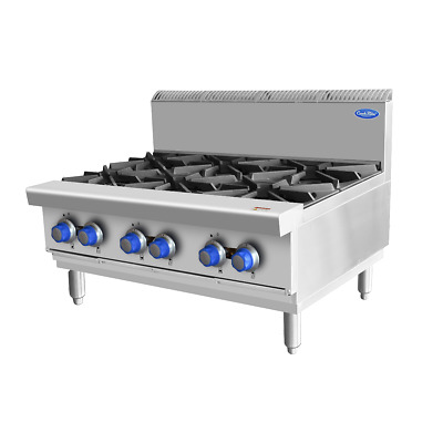 AU2700.45 • Buy 6 Burner Cooktop Stovetop Cookrite Gas Cook Top Commercial Kitchen Flame Failure