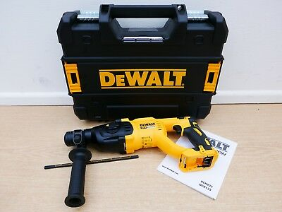 View Details Dewalt 18v Xr Dch133 3 Mode Sds Hammer Drill Bare Unit + Tstak Case  • 129.75£