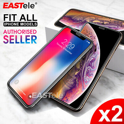 AU2.99 • Buy 2x Genuine EASTele For Apple IPhone X XS Max XR Tempered Glass Screen Protector