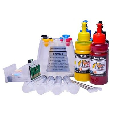 Non OEM Pigment Ink Ciss Continuous Ink System Fits Epson WF-7015 • 41.99£