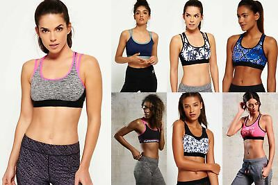 View Details New Womens Superdry Sports Bra Selection - Various Styles & Colours 240119 • 9.99£
