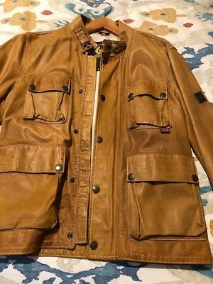 a1909c126 mens perforated leather jacket