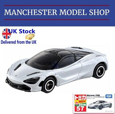 """AU17.01 • Buy Tomica 57 McLaren 720S """"First Edition"""" Silver Grey """"New 2018"""" BOXED SEALED"""