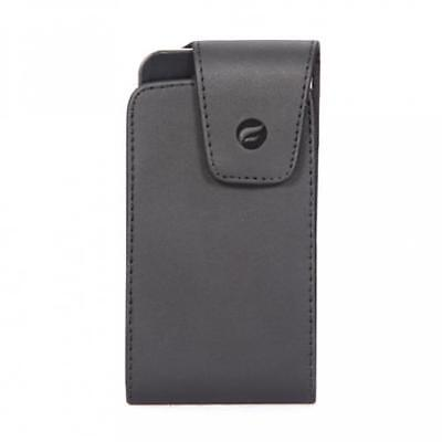 $7.98 • Buy Black Leather Phone Case Side Pouch Holder Belt Holster With Swivel Clip - J112