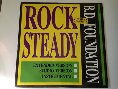 B.D. Foundation* - Rock Steady, 12 , (Vinyl) • 10.27£