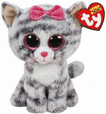£7.95 • Buy Official Ty Beanie Babies Boos Kiki Cat Plush Soft Toy New With Tags