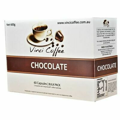 AU34.95 • Buy *Nespresso Compatible Coffee Capsules | Chocolate Flavour | 60 Capsules