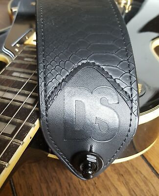 $ CDN24.99 • Buy Dragon Scale Black Snake Electric Guitar & Bass Strap & Accessories Package