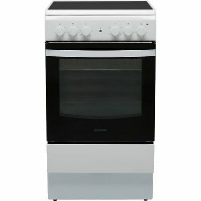 £227 • Buy Indesit IS5V4KHW Cloe Free Standing A Electric Cooker With Ceramic Hob 50cm