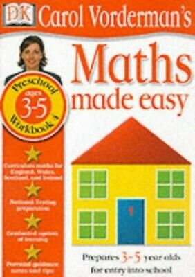 £3.99 • Buy Maths Made Easy: Age 3-5 Book 4 (Maths Made Eas... By Vorderman, Carol Paperback
