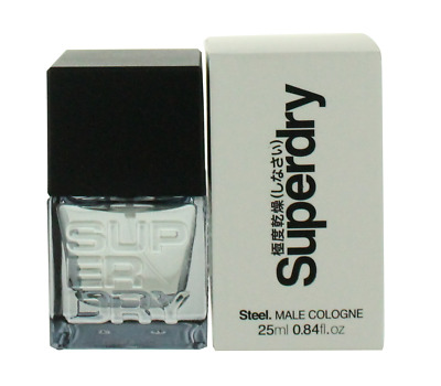 Steel By Superdry For Men EDC Spray Cologne 0.84oz New In Box • 20.87£