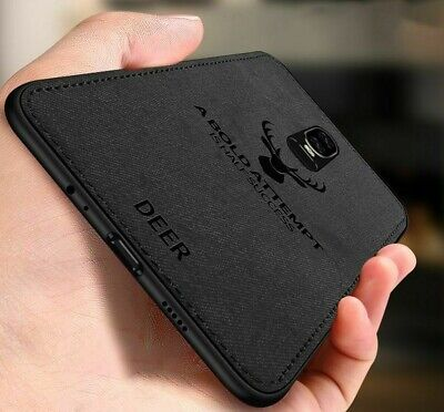 AU12.72 • Buy Business Case For Oneplus 6 6T 5 5T Ultra-thin Silicone TPU Leather Cloth Covers
