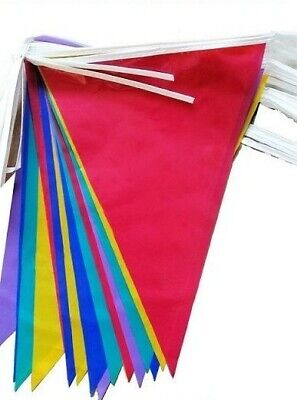 £1.85 • Buy 33 Feet 20 Flags Multi Colour Bunting Party Event Home Garden Decoration 10 Mtr