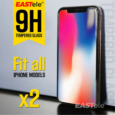 AU3.93 • Buy 2x EASTele For Apple IPhone 8 Plus 7 6s Plus Tempered Glass Screen Protector