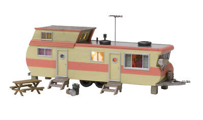 $ CDN55.32 • Buy Woodland Scenics BR4951, N Scale, Double Decker Trailer With LED Lighting