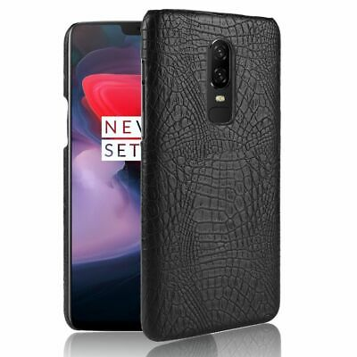 AU13.57 • Buy Crocodile Pattern Hard Phone Cases For Oneplus 6 5T 5 3 Dirt Resistant Accessory