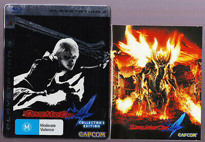 AU25 • Buy LIKE NEW Devil May Cry 4 Steelbox WITH MANUAL BOOKLET PS3 Playstation 3 Game