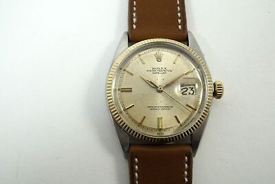 $ CDN5011 • Buy Rolex 1601 Early Datejust Head, Small Print Stainless Steel & Gold  Dates 1961
