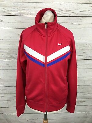 Women's Nike Track Top - Medium UK12/14 - Pink - Great Condition • 16.99£