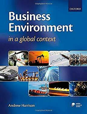 Business Environment In A Global Context Paperback Andrew Harrison • 7.50£