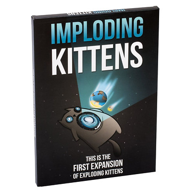 AU40 • Buy Exploding Kittens - Imploding Kittens Game Expansion - Loot - BRAND NEW