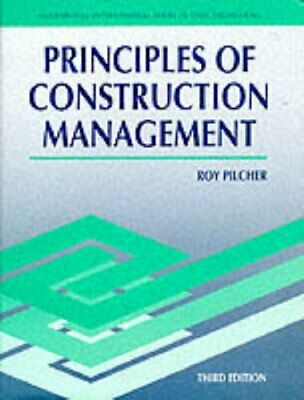 £3.29 • Buy Prin Construction Mgmt (McGraw Hill International Series... By PILCHER Paperback