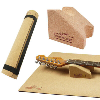 £11.99 • Buy Guitar Electric Acoustic Neck Rest Support Stand Work Mat Pad Luthier Setup Tool
