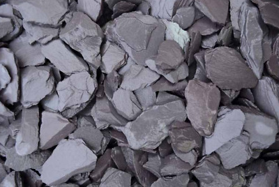 Blue Slate Chippings For Garden Driveway [40mm Fish Friendly Quality Gravel] • 10£